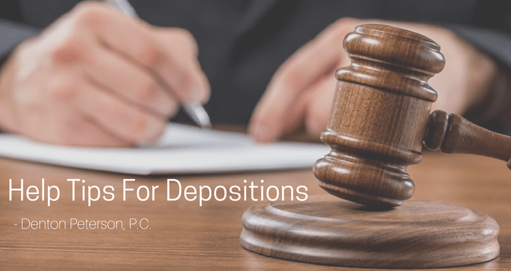 helpful tips for depositions in az