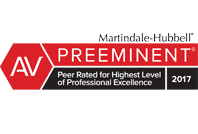 AV Martindale-Hubbell Preeminent Top Rated Phoenix Corporate Lawyer